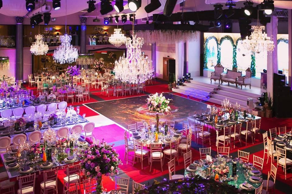 Magnificent reception area