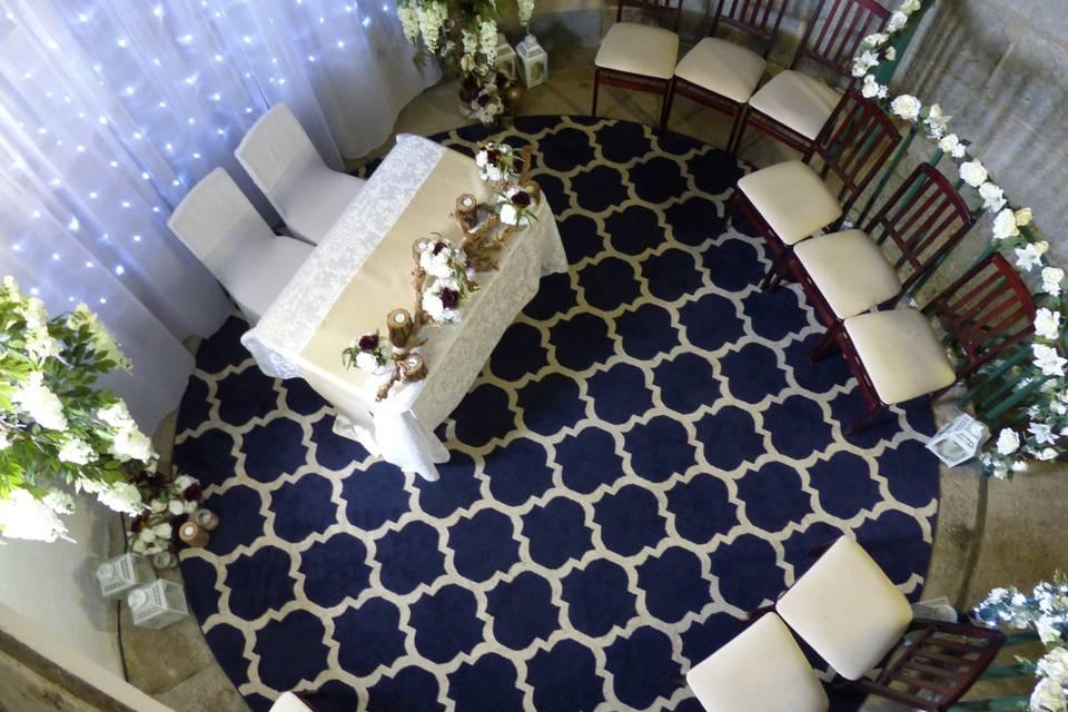 Wedding floor