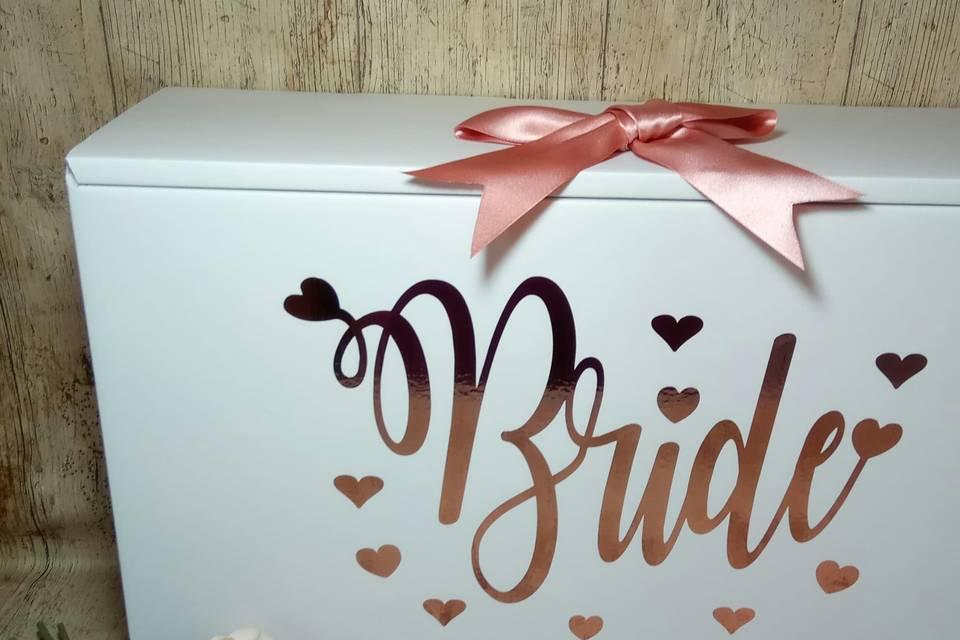 Bridal dress box