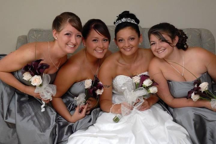4/8 Bridal Party Hair & Makeup