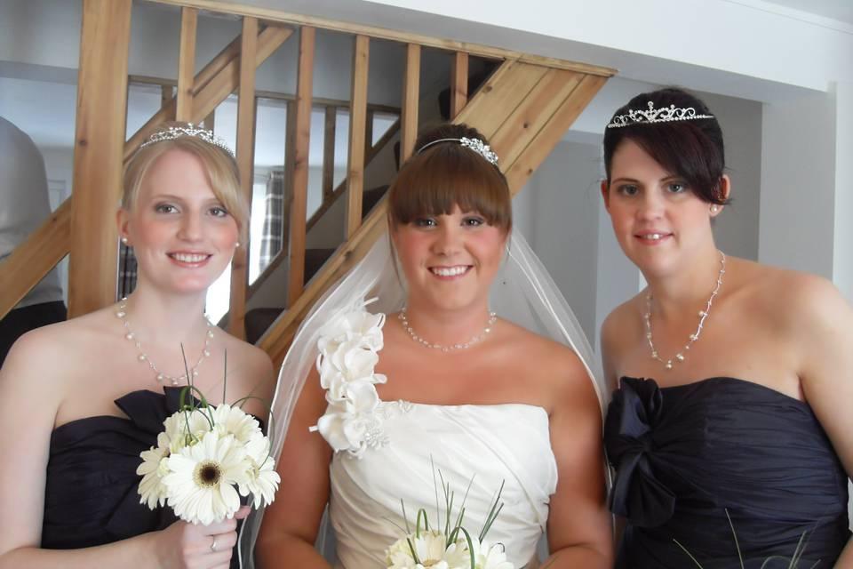 2/8 Bridal Party Hair & Makeup