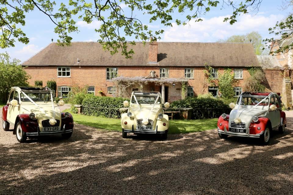 2CV Wedding Cars