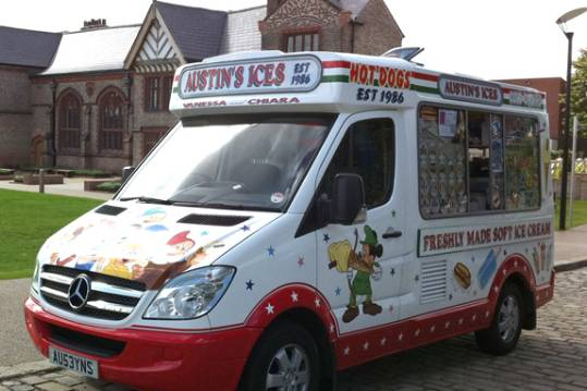Austins Ices - Ice Cream Van