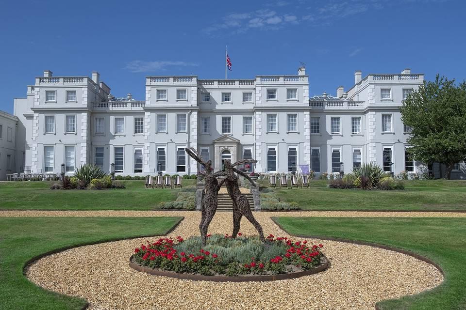 Back of Mansion House
