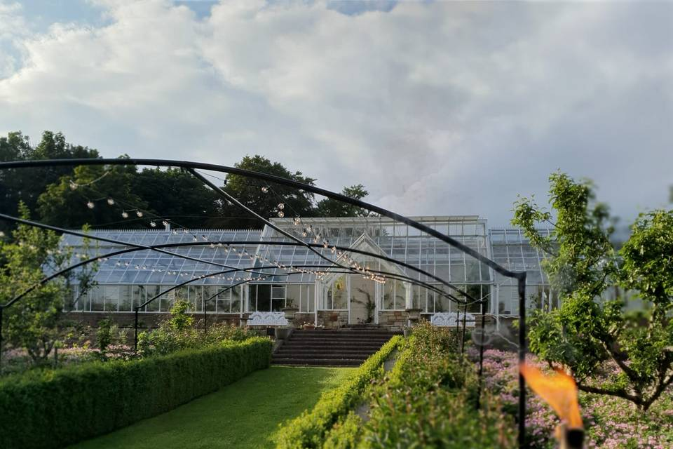 View of the Greenhouses