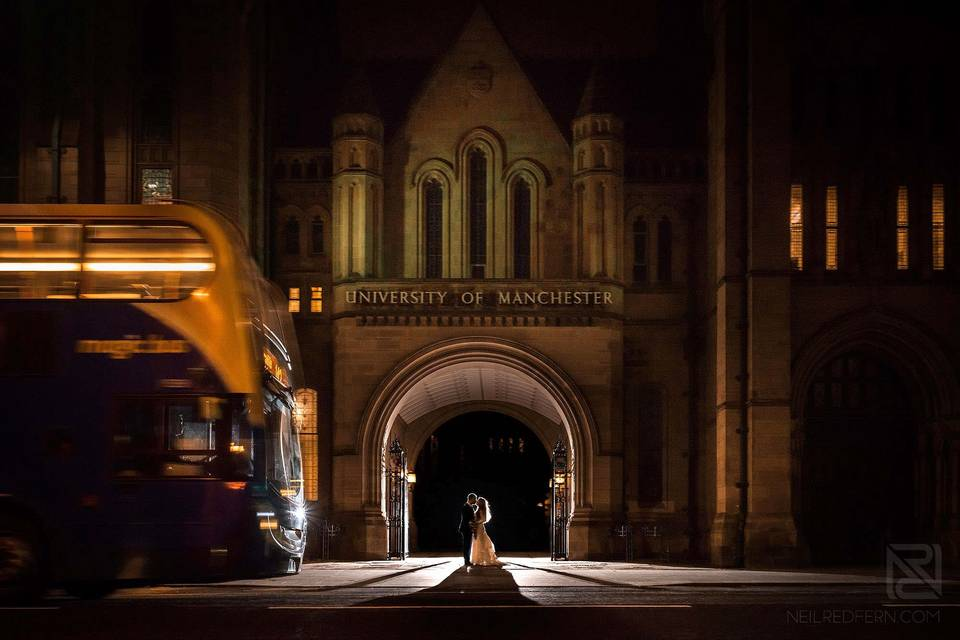 Weddings at The University of Manchester - Outside Space, Main Entrance