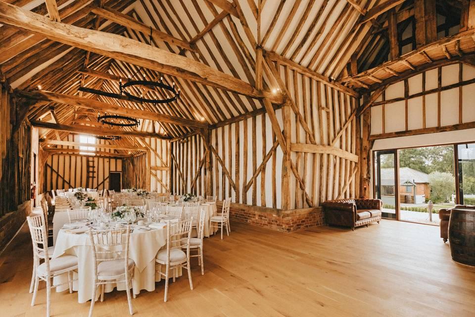 Inside The Grand Barn