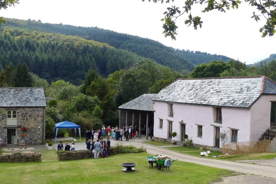 The Clifford Barton Courtyard