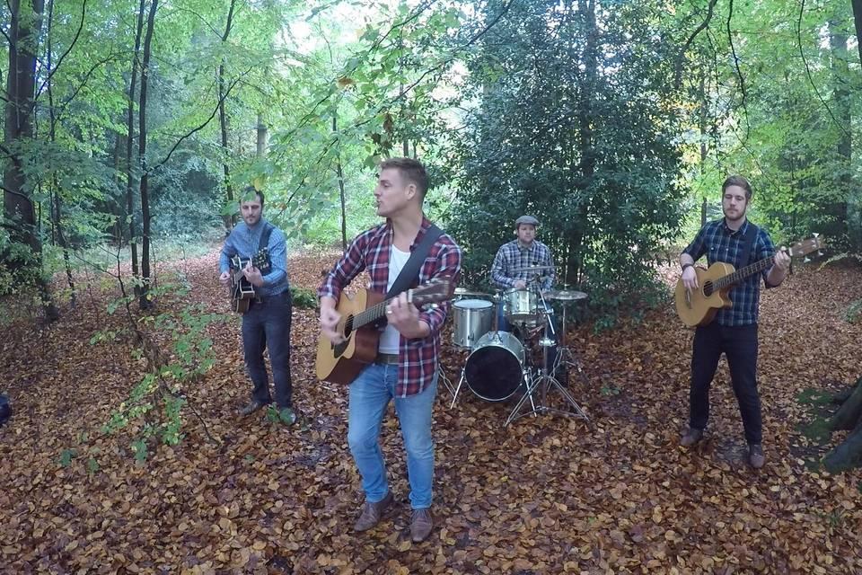 Woodland rehearsal